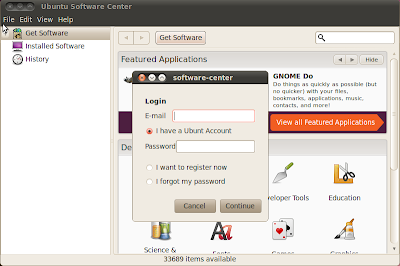 ubuntu software center 10.10