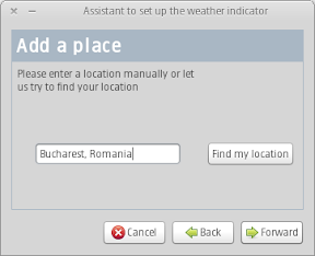 indicator weather setup assistant