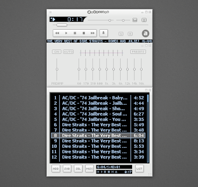 Audacious2 2.4 winamp interface