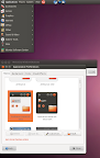 ubuntu light themes maverick meerkat screenshot