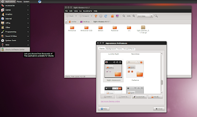 Impression Ubuntu 10.10 maverick meerkat