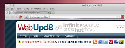 Firefox4 Linux loading