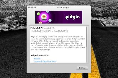 Pidgin 2.7.7