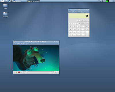 Ozone Lubuntu theme screenshot