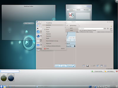KDE 4.6 screenshot