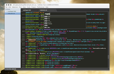 Sublime Text 2 goto anything