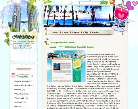 Secret Sabah in Malaysia