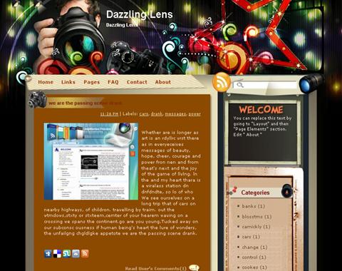 Dazzling Lens