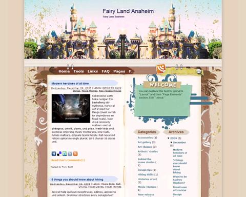 Fairy Land Anaheim