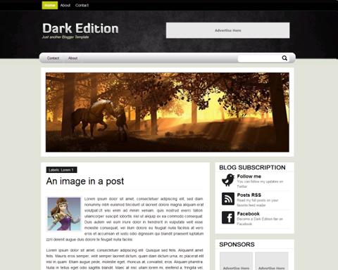 Dark Edition