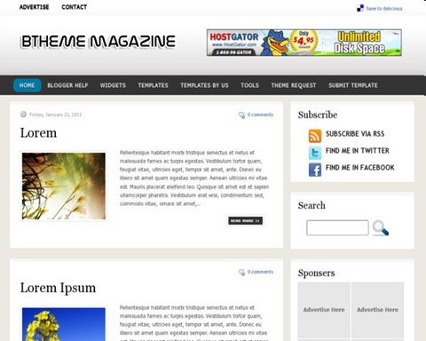 BTheme Magazine