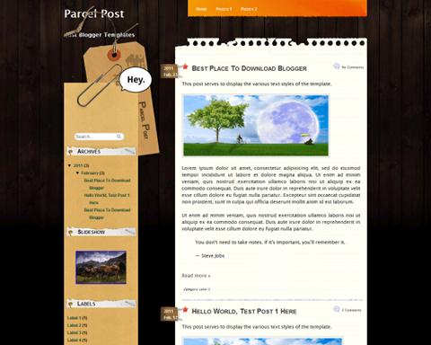 Parcel Post