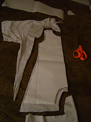 Fit To A T Baby Romper Tutorial Part 2 Making The Pattern