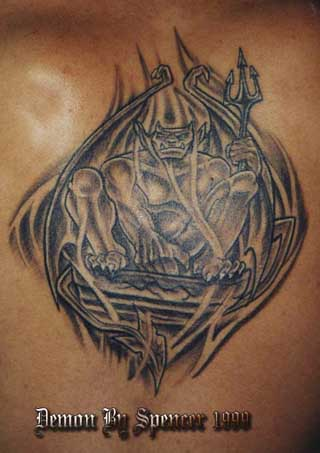 Gargoyle Sold Picasa Web Albums - Spencer Littlewood - Tattoos by Sp..