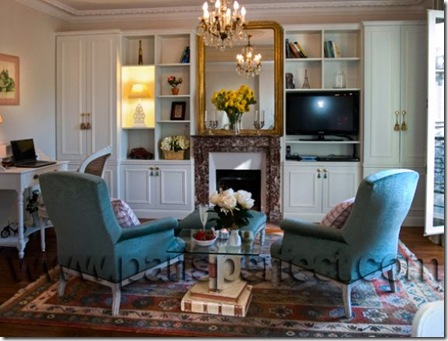 Clairette fireplace