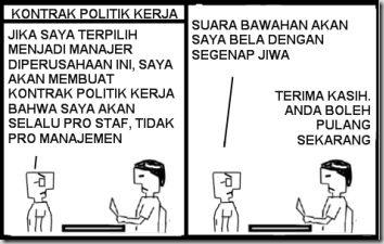 KONTRAK POLITIK KERJA