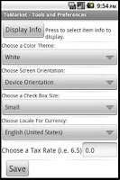 Screenshot of ToMarket Grocery Shopping Free