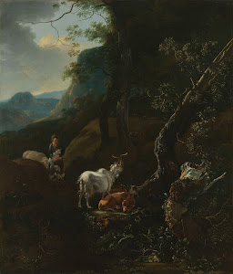 RIJKS: Adam Pijnacker: painting 1673
