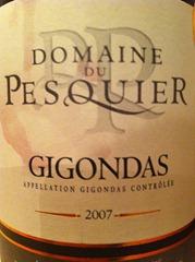 2007 Domain du Pesquier