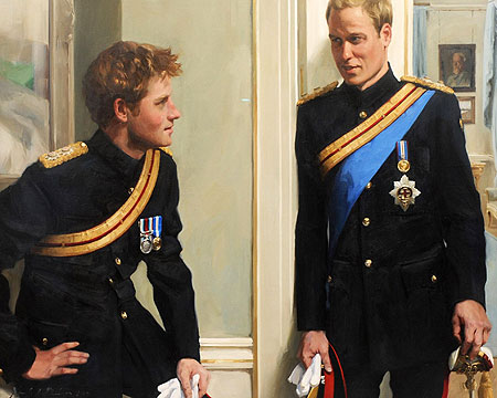 Prince+william+and+harry+young