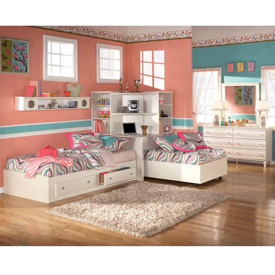 Corner Twin Bed Bedroom Sets 550 x 550