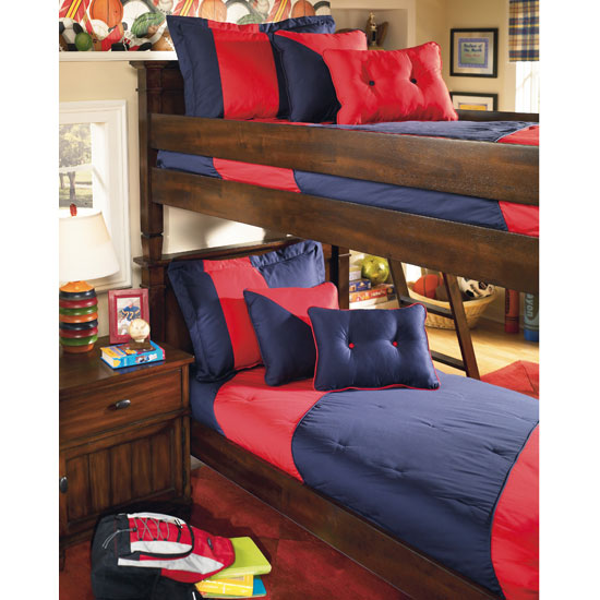 Inspirational Cabin Creek Youth Bunk Bed Varsity Navy Youth Bunk Bedding