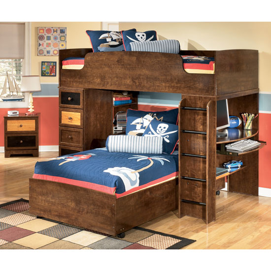 Cool Benson Youth Bunk Bed Alexander Youth Loft Bed Set