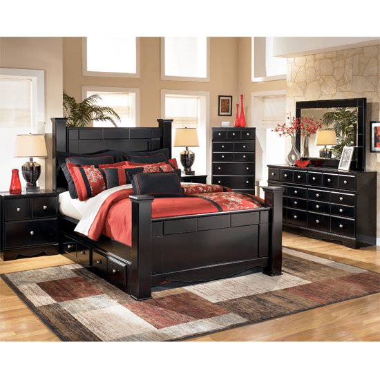 Perfect Shay Poster Bedroom Set Camdyn Poster Bedroom Set
