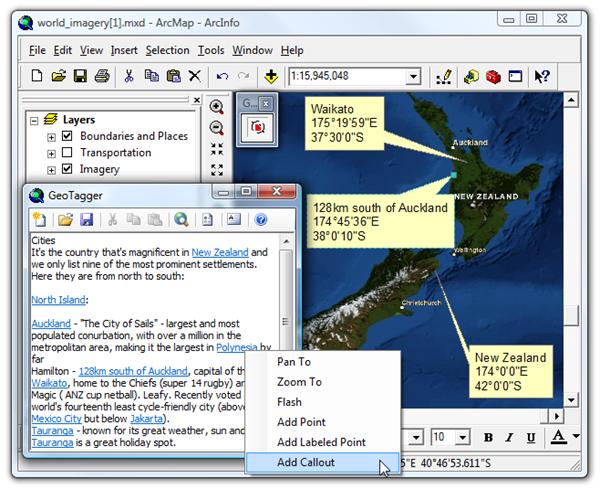 GeoTagger for ArcGIS Desktop