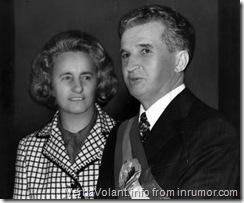 Ceausescu Elena and Nicolae