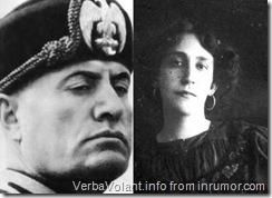 Mussolini and Leda Rafanelli