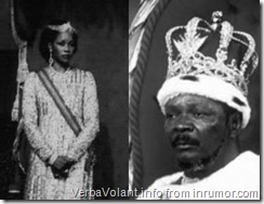 Bokassa and Catherine