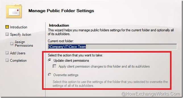 Manage PF Settings