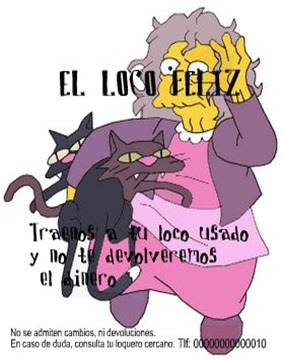 simpsons_CrazyCatLady N