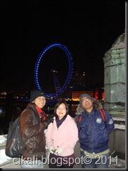 bersama rumate ngan Lim..