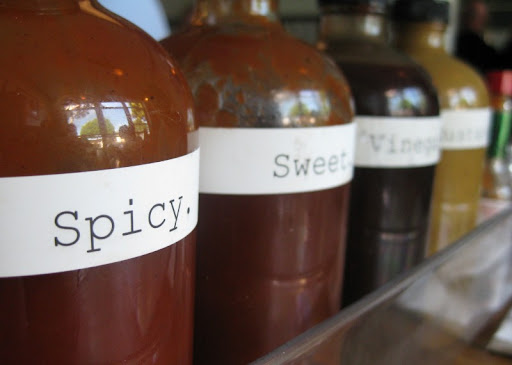 Sauces at Beachwood BBQ