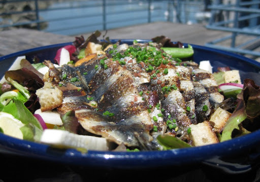 Monterey Sardine Salad at Fish