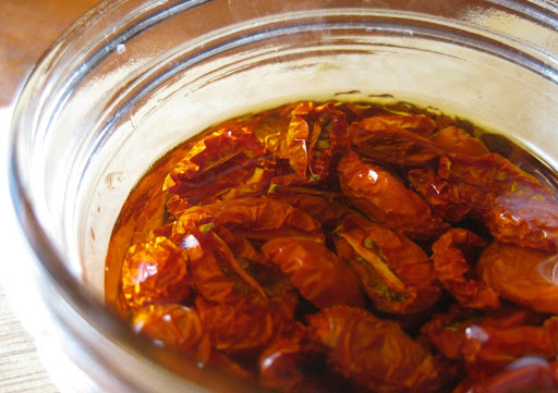 Oven-Dried Grape Tomatoes