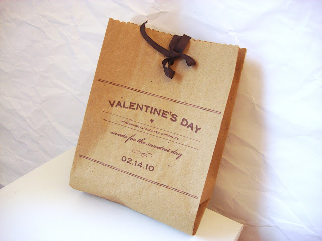 Valentine's Day Brownie Bags by Twig&Thistle