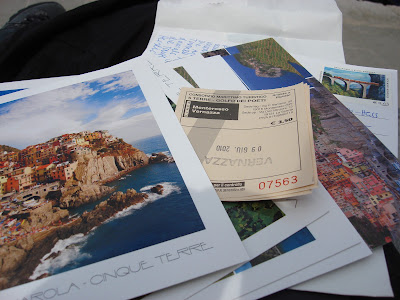 Postkarten Italien Cinque Terre