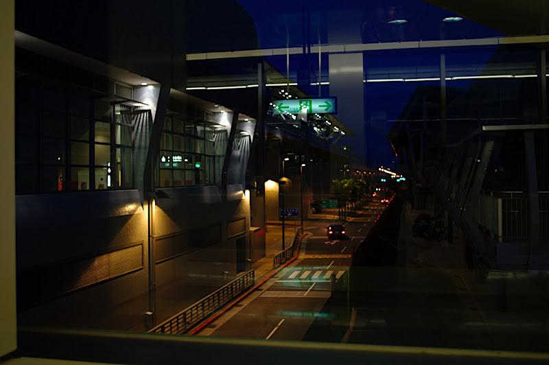 傍晚的高鐵站