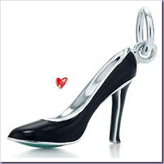 Sapato-Salto-Pingente-Tiffany&Co-Charms