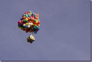 Casa-Up-Altas-Aventuras-Réplica-Balões