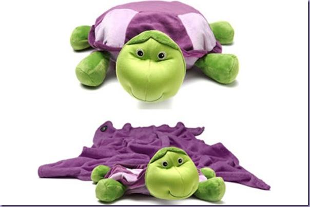 Tartaruga-Plush-Travesseiro-Cobertor-Brinquedo