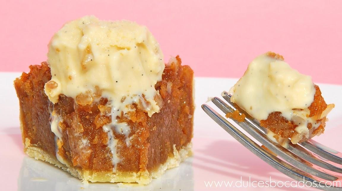 tarta de nueces macadamia y nueces