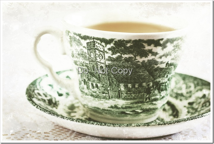 Green tea texturized