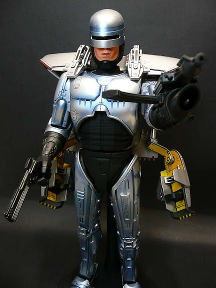 hot toys robocop 3