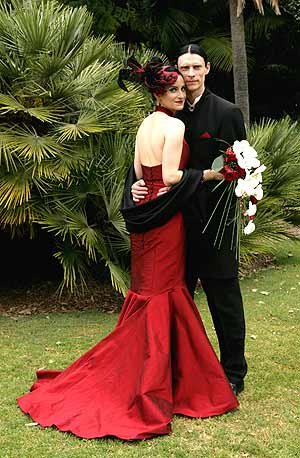 Special Red Wedding Gown