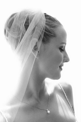 Bunch Updo Bridal Hairstyle