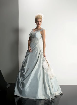 Colored Wedding Gowns 2010